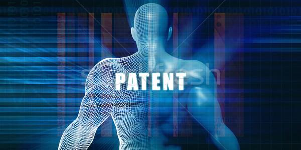 патент футуристический аннотация технологий Сток-фото © kentoh