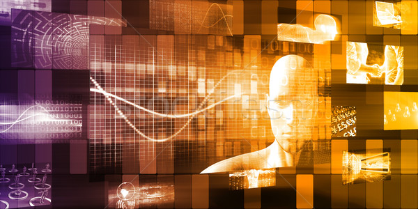 технологий эволюция вокруг Мир запуска аннотация Сток-фото © kentoh