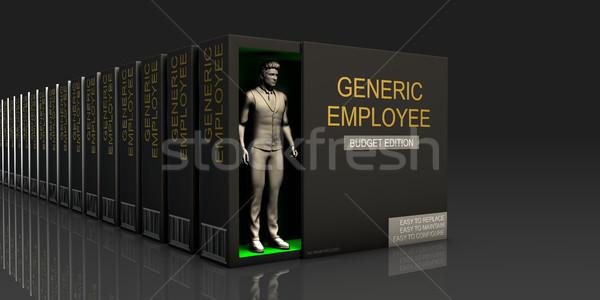 általános alkalmazott végtelen ellátás munka állás Stock fotó © kentoh