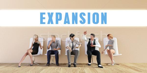 Business Expansion Stock photo © kentoh