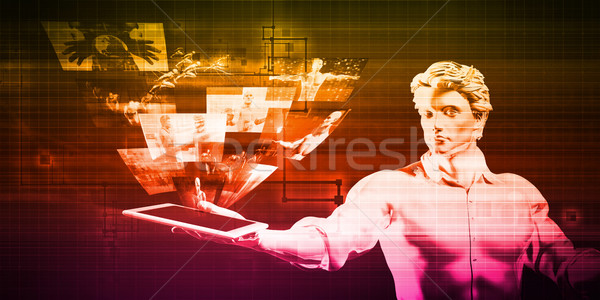 Multimedia Technology Stock photo © kentoh