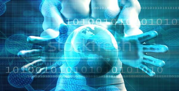 無制限の 成長 成功 ビジネス ネットワーク 業界 ストックフォト © kentoh