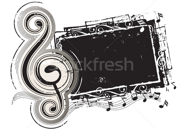 Grunge effect vector downloaden eps Stockfoto © keofresh