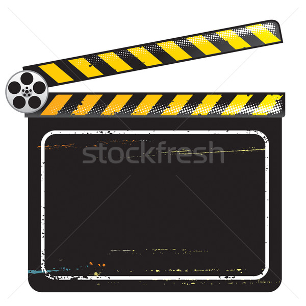 Movie Clapper Board Stock photo © keofresh