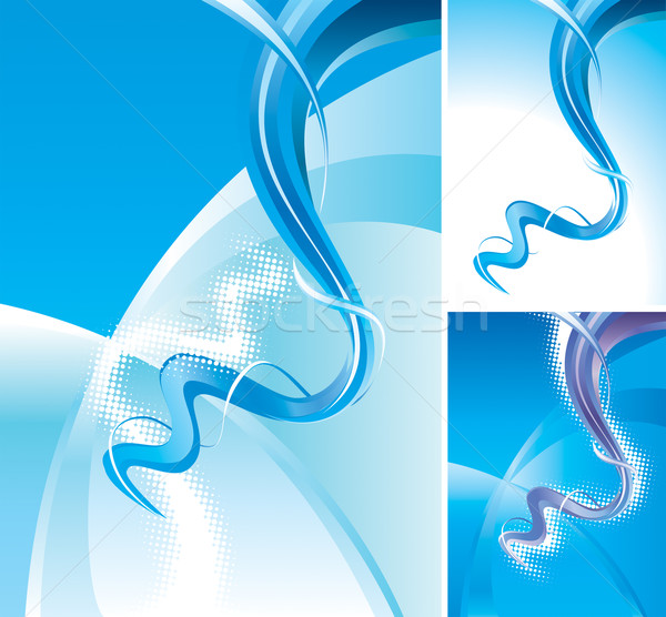 Abstract Waves Background  Stock photo © keofresh
