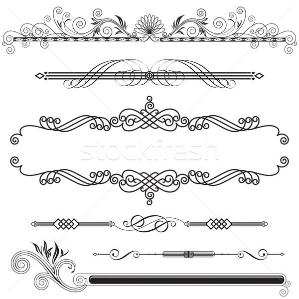 水平な セット デザイン 要素 抽象的な ストックフォト © keofresh