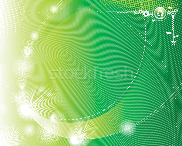 Eco groene abstract licht scherm corporate Stockfoto © keofresh