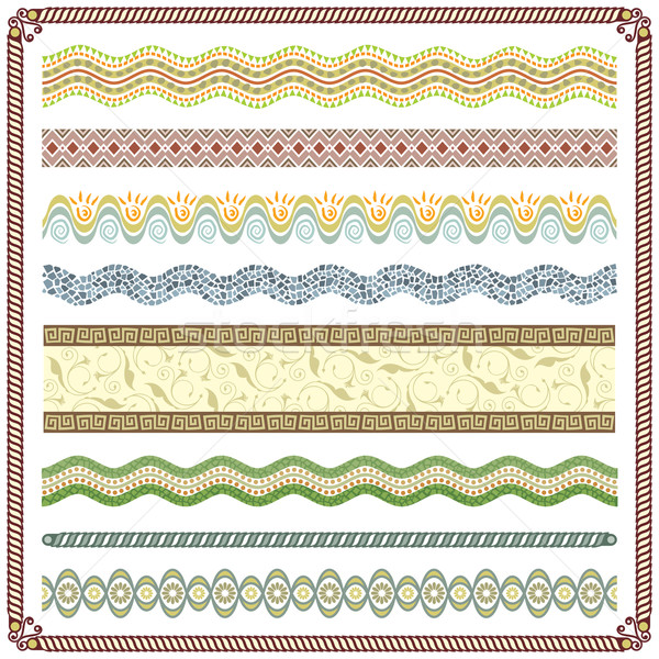 Pattern Border Stock photo © keofresh