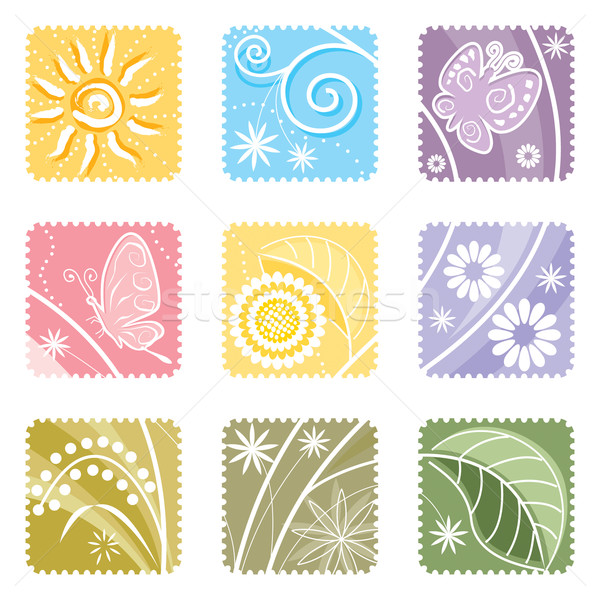 Floral Decorative Elements  Stock photo © keofresh