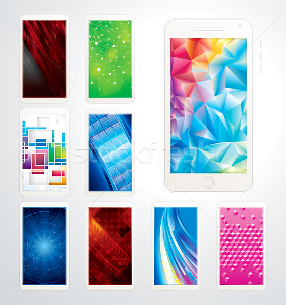 Technology Wallpaper  Stock photo © keofresh