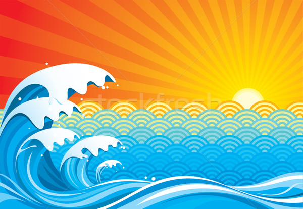 Surf Sun Stock photo © keofresh