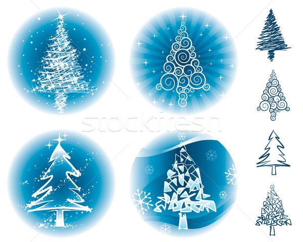 Christmas Trees Stock photo © keofresh
