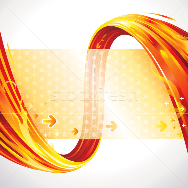 Technologie abstract Rood ontwerp web Stockfoto © keofresh