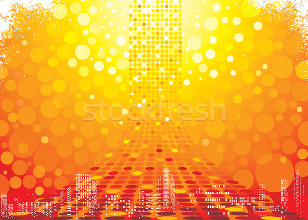Abstract Hot Background   Stock photo © keofresh