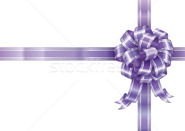 Purple Ribbon Stock photo © keofresh