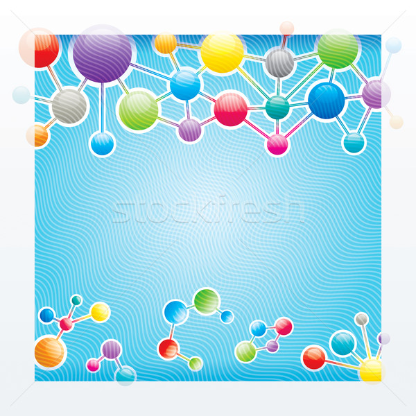 Molecules Structure Stock photo © keofresh