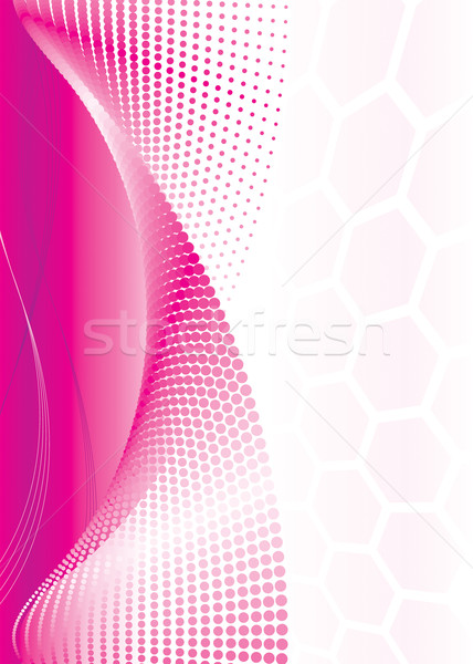 Roze abstract golf vector downloaden eps Stockfoto © keofresh