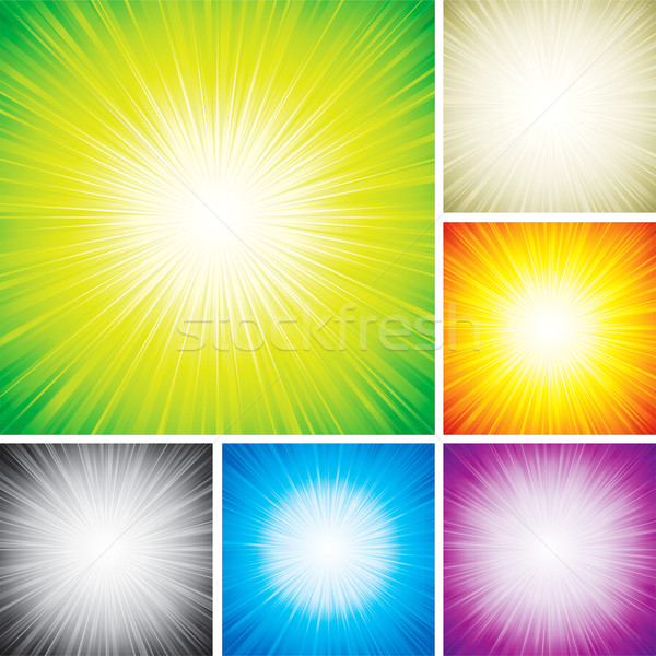 Radial Rays   Stock photo © keofresh
