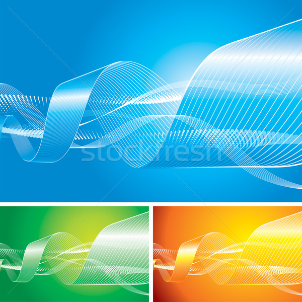 Abstract Flowing Background Stock photo © keofresh