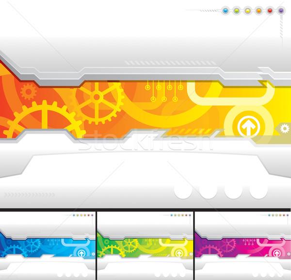 Technologie modèle internet design fond Photo stock © keofresh