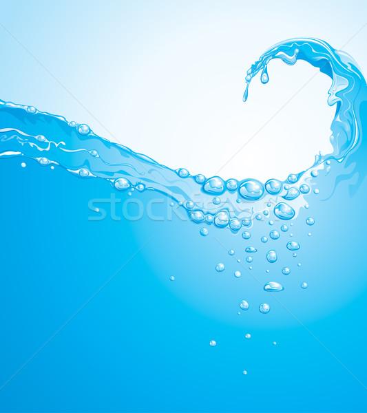Water Wave  Stock photo © keofresh