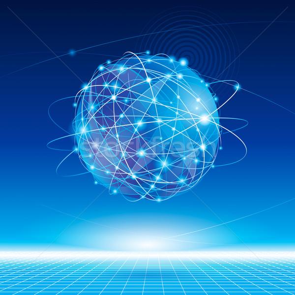 Global Network  Stock photo © keofresh