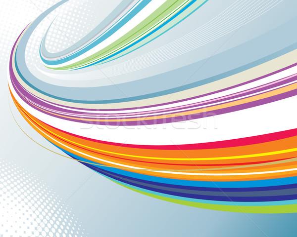 Vitesse résumé courbe technologie design entreprise Photo stock © keofresh