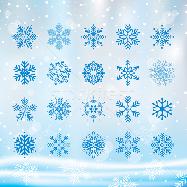 Christmas  Snowflake  Stock photo © keofresh