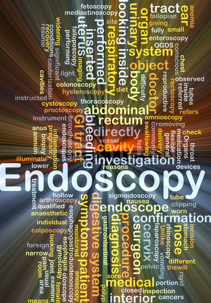Endoscopy background concept glowing Stock photo © kgtoh