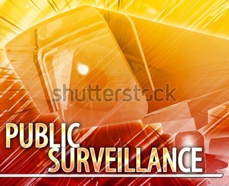 Urban crime Abstract concept digital illustration Stock photo © kgtoh