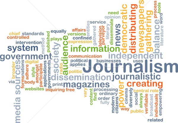 Journalisme fond illustration design nouvelles Photo stock © kgtoh