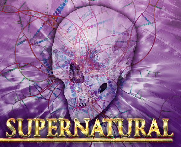 Supernatural Abstract concept digital illustration Stock photo © kgtoh