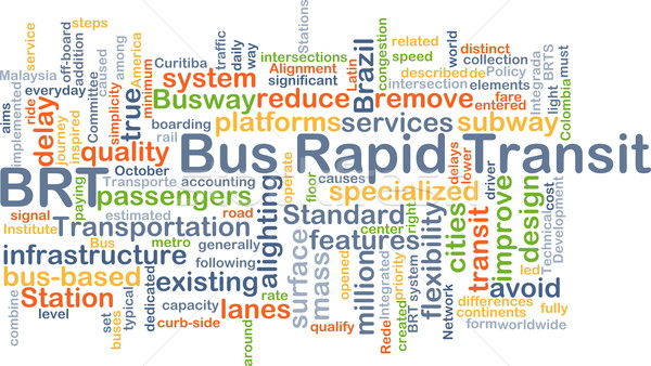 автобус быстрый транзит фон иллюстрация Сток-фото © kgtoh