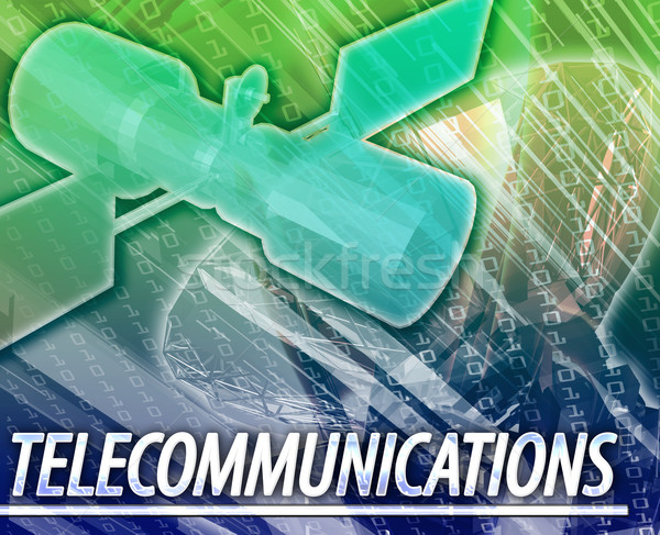 Telecommunications Abstract concept digital illustration Stock photo © kgtoh
