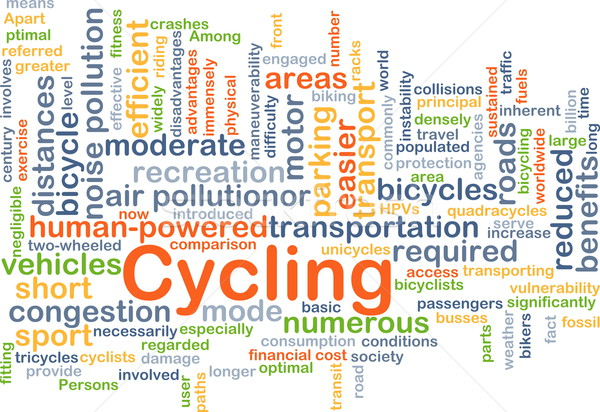 Cycling background concept Stock photo © kgtoh