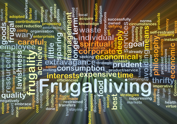 Frugal living background concept glowing Stock photo © kgtoh