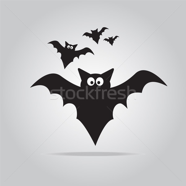 Graf halloween symbool illustratie kunst web Stockfoto © Kheat