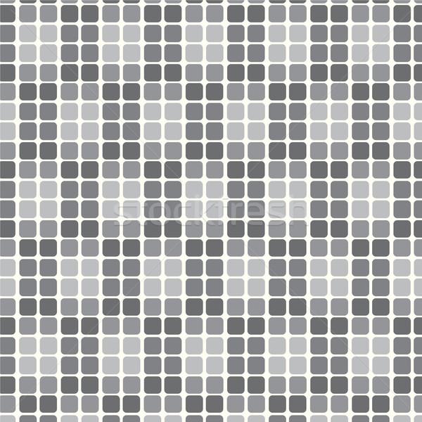 Seamless pattern geometric monochrome vector background Stock photo © Kheat