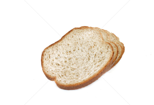 whole wheat bread isolated on white background Stock photo © Kheat