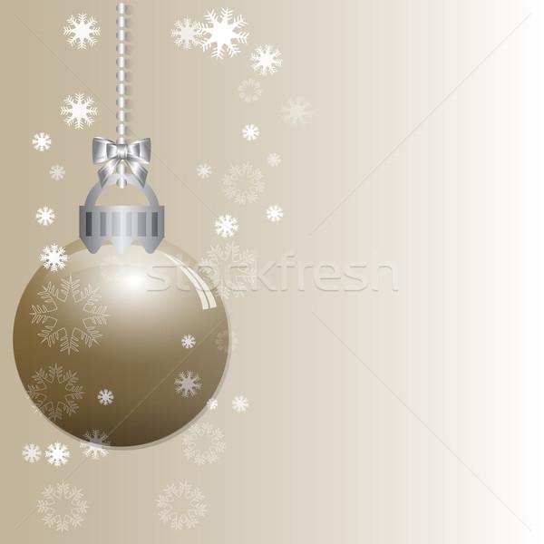 抽象的な クリスマス 勾配 ベクトル 空 背景 ストックフォト © Kheat