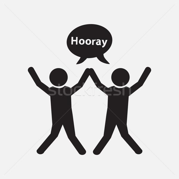 人 幸せ 運動 ビジネス にログイン ストックフォト © Kheat