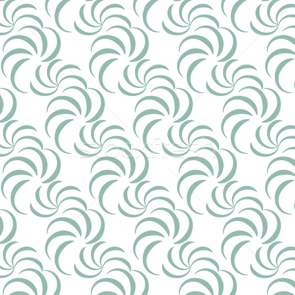 abstract seamless pattern curve vector background Stock photo © Kheat