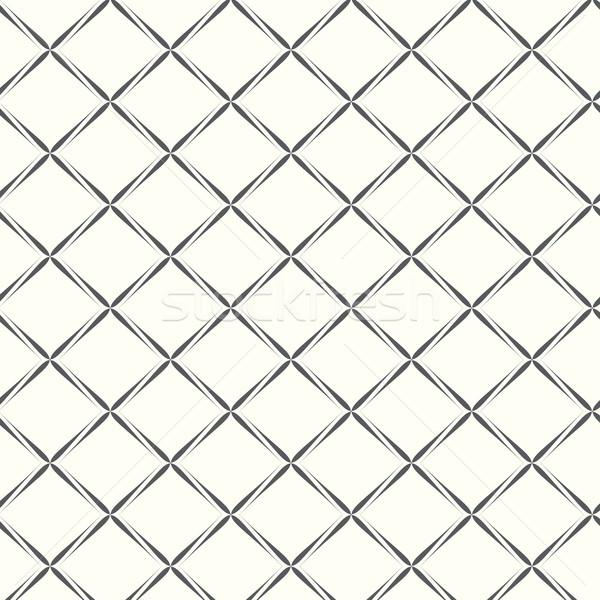 vector seamless pattern geometric tiles rhombus Stock photo © Kheat