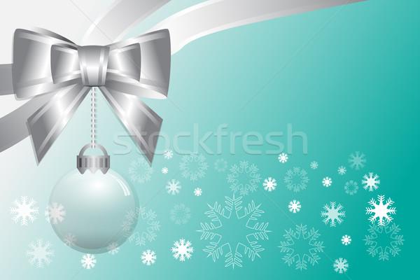 抽象的な クリスマス 勾配 緑 ベクトル 色 ストックフォト © Kheat