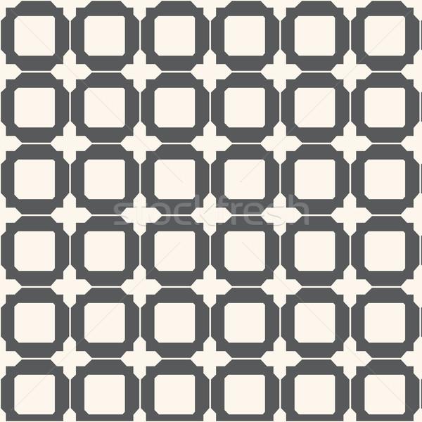 Vektor végtelen minta mértani csempék háttér tapéta Stock fotó © Kheat
