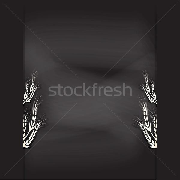chalkboard design  illustration background Stock photo © Kheat