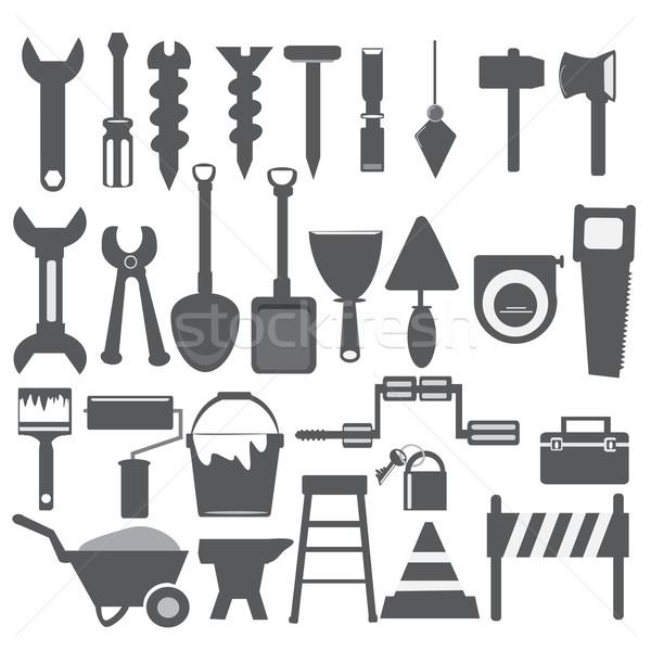 Working tools icon Stock photo © Kheat