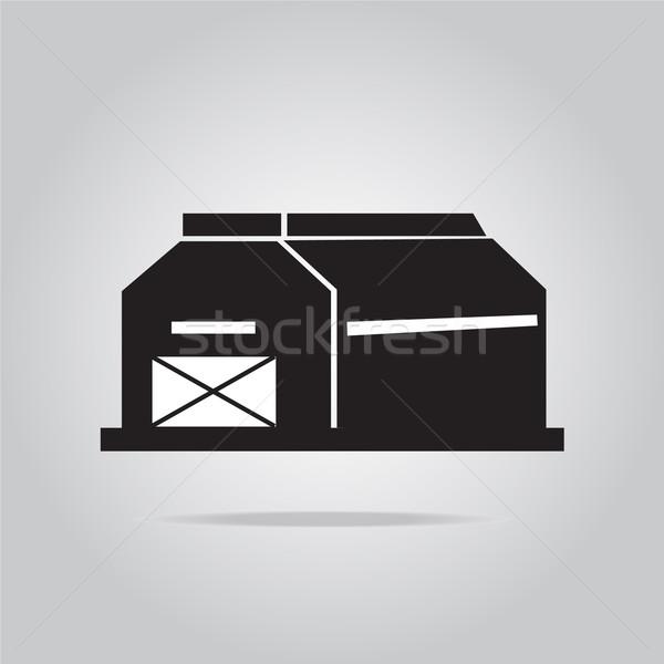 Building icon vector illustration Stock photo © Kheat