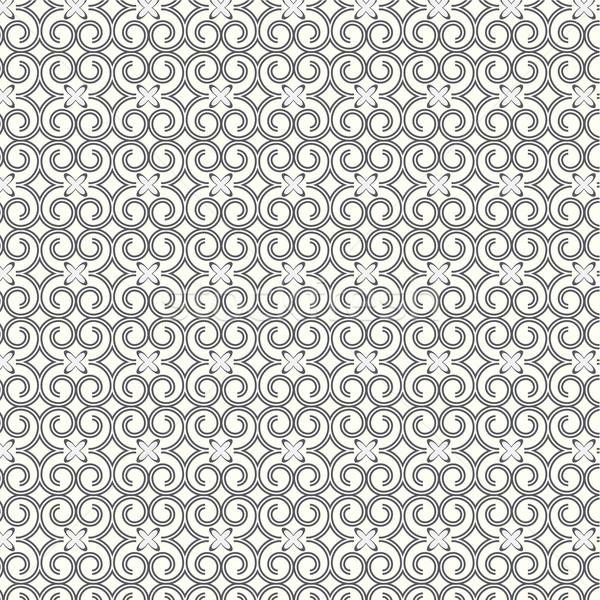 Stok fotoğraf: Soyut · hatları · eğri · vektör · dizayn