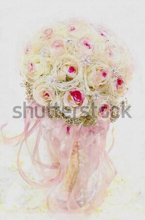 バラ 花 ソフト 色 ピンク 光 ストックフォト © Kheat